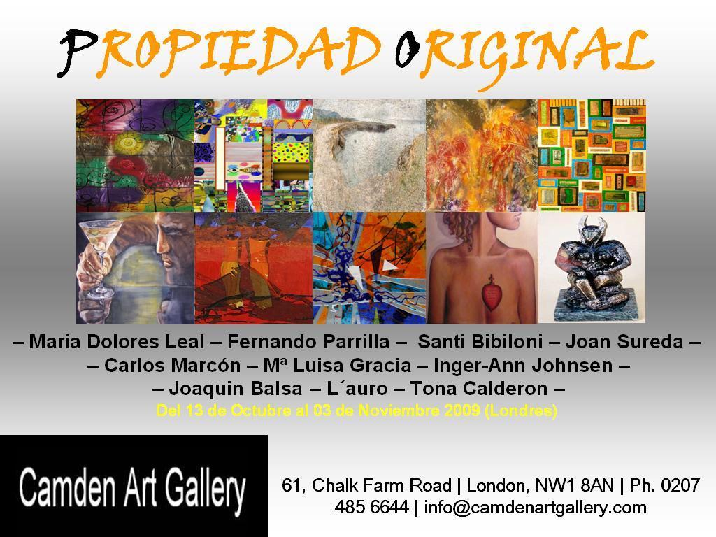 Invitación Exposición Londres