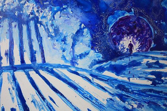 Petjades - Pisadas sobre la nieve
