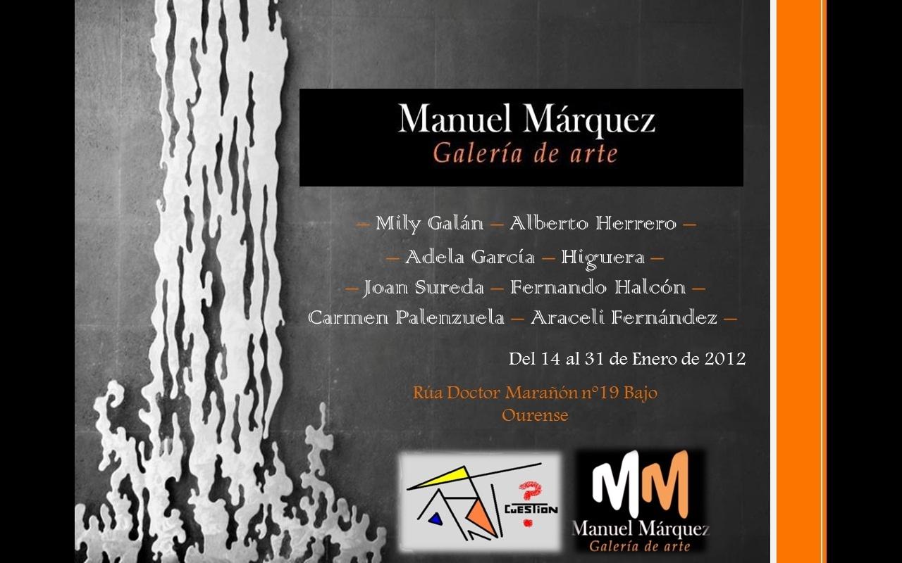 Invitacion galeria Manuel Marquez