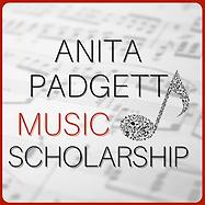Anita Padgitt Music Scholarship Logo