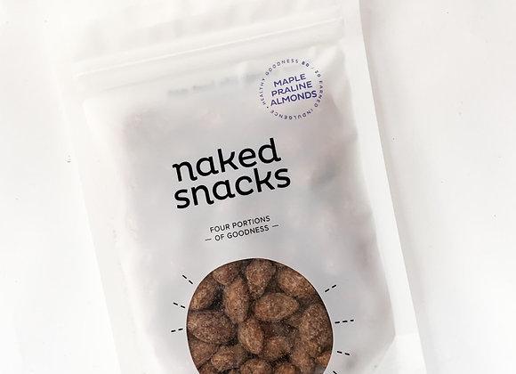 Naked Snacks - Maple Praline Almonds 140g