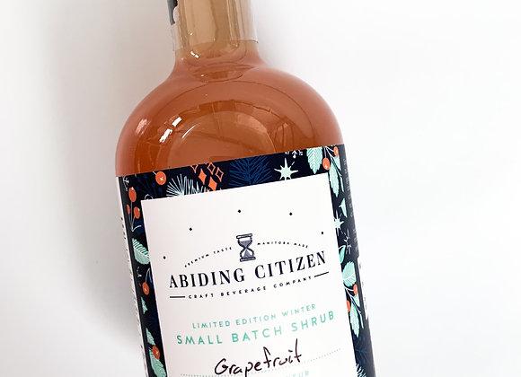 Abiding Citizen Grapefruit Shrub