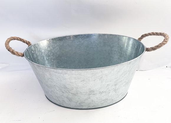 Bucket with Jute Handles