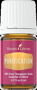 Purification ätherisches Öl befreit die Raumluft von unangenehmen Gerüchen Young Living