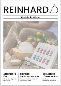 Broschüre über ätherische Öle von Young Living