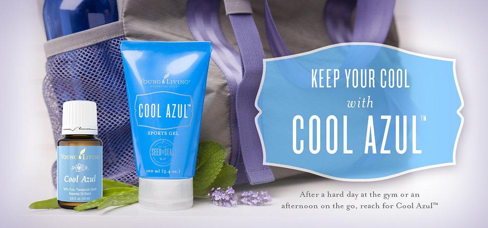 Cool Azul Sportsgel von Young Living mit ätherischen Ölen