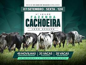 07-09 - 4º LEILÃO FAZENDA CACHOEIRA - JO