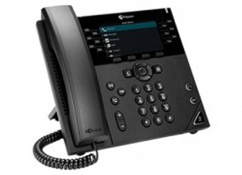 Polycom VVX 450 12-Line High-end Color IP Desktop Phone