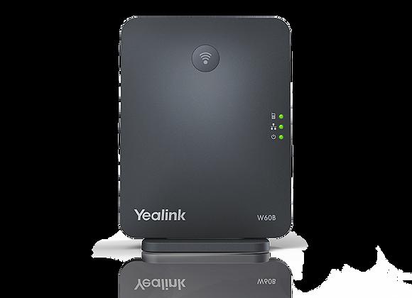 Yealink W60B-IP‑ Expandable Cordless Phone base station.