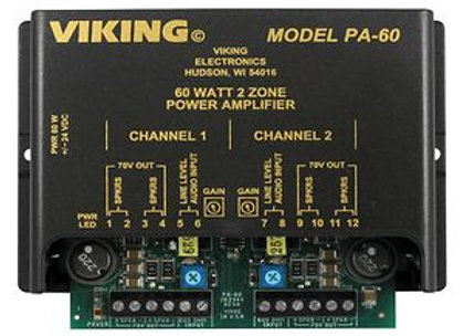 Viking PA 60 Paging Amplifier
