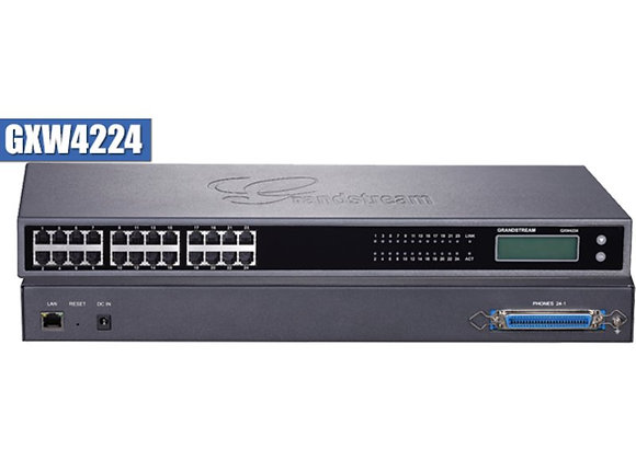 Grandstream GXW4224 Analog FXS IP Gateway 24 Port
