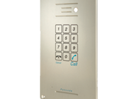 ITS Telecom Flush Mount Piezo Pancode IP Door Phone (Full Keypad)