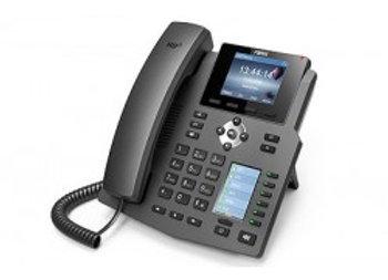 Fanvil X4 4 Line Enterprise Multi Color Screens Phone, 30 DSS Keys