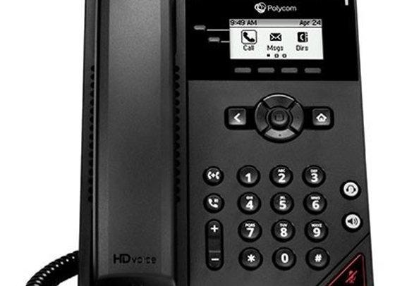 Polycom VVX 150 2-Line Entry-level Desktop Phone PoE