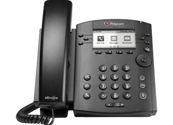 Polycom VVX 301 with Power Supply