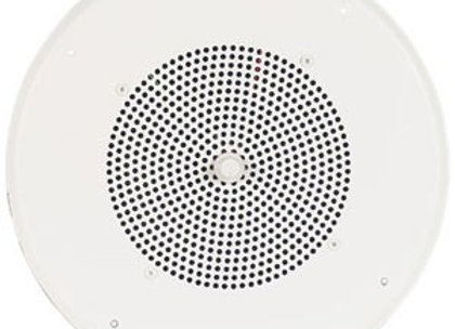 Valcom VIP-160A Two-Way 8in IP Ceiling Speaker
