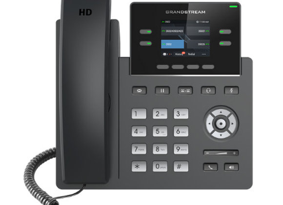 Grandstream 2612 POE 2 line telephone carrier grade