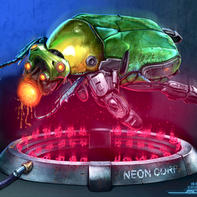 OBJECT: SR004. Insects Series... (Neon Corp).