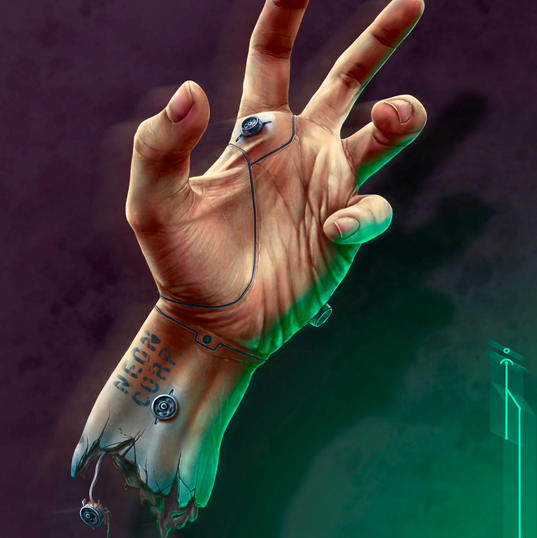The hand. (Neon Corp).