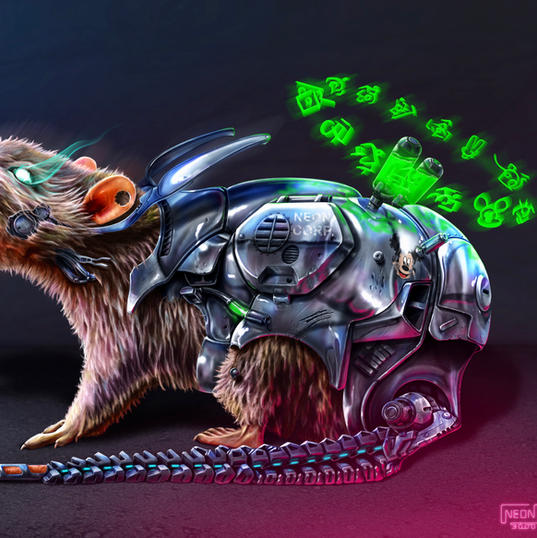 OBJECT: RT006. Rodent Series… (Neon Corp).