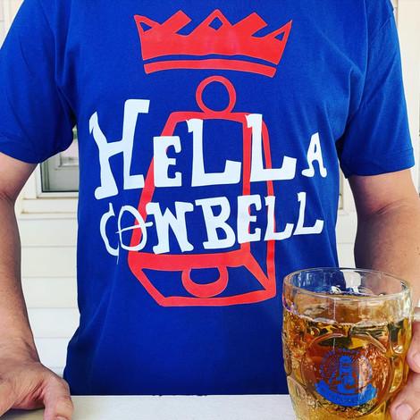 HELLA COWBELL T-SHIRT
