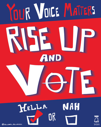 RISE UP AND VOTE