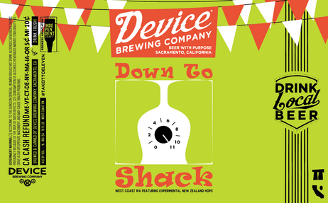 DOWN TO SHACK label