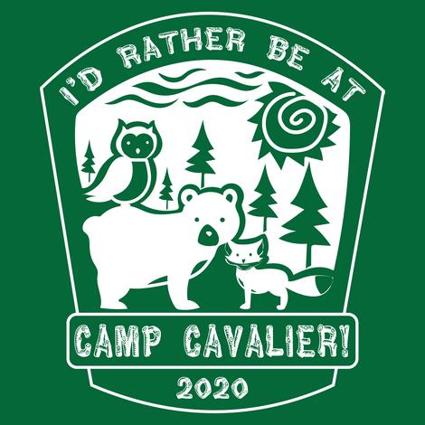 Camp Cavalier Logo