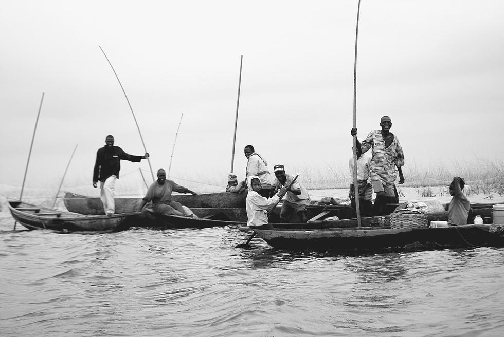 Les pêcheurs de G
