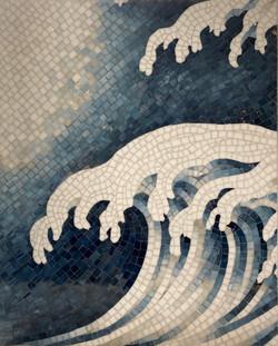 GRACIE - Waves Jewel Glass