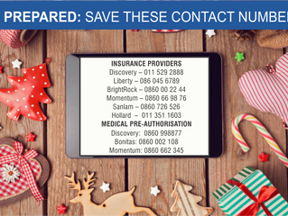 Keep these contact numbers handy this festive season