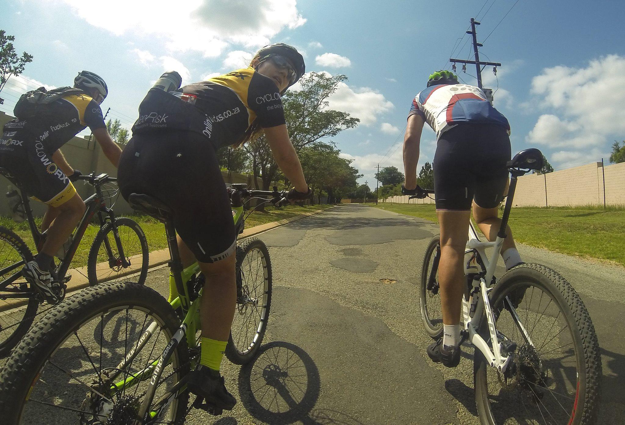 cycling club in JHB