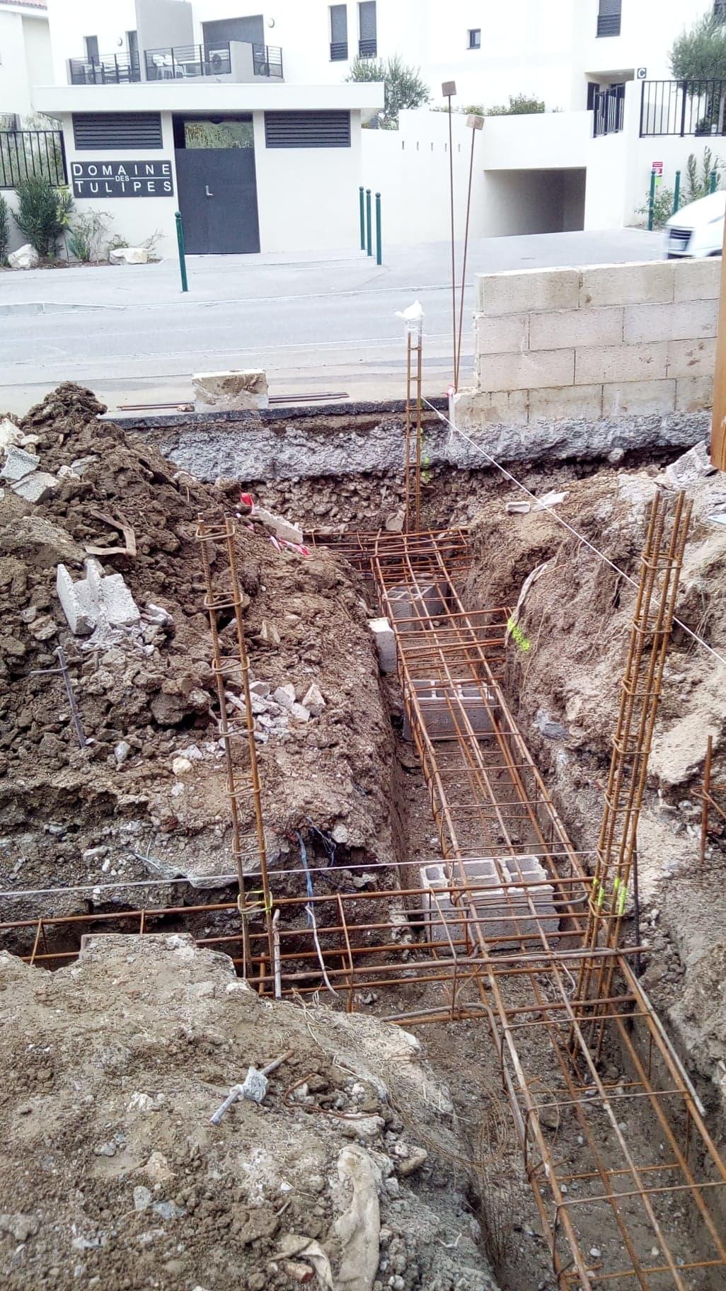 Ferraillage des fondations