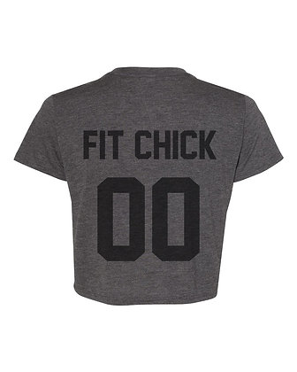 FIT CHICK Jersey Crop