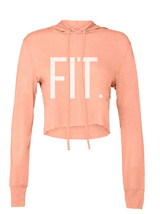 Long Sleeve FIT. Cropped T-Shirt