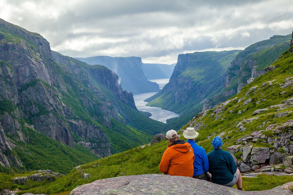 Backcountry Hiking, Western Brook Pond F