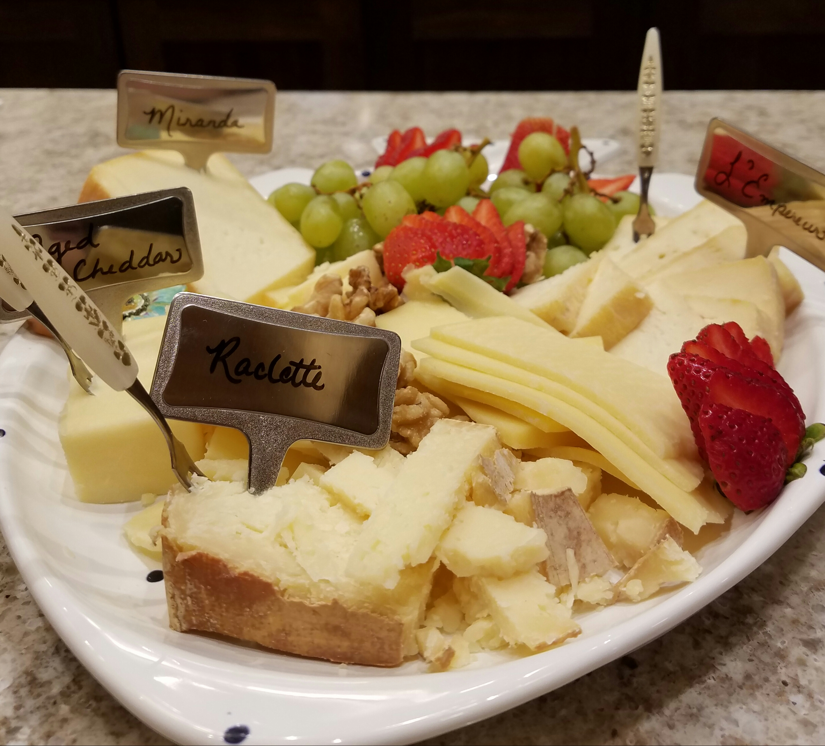 Paired cheeses