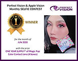 6-Apple vision selfie contest-First Winn