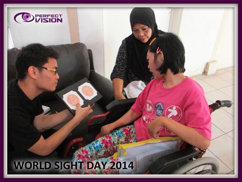 Ishihara eye test