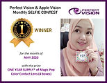 5-Apple vision selfie contest-First Winn