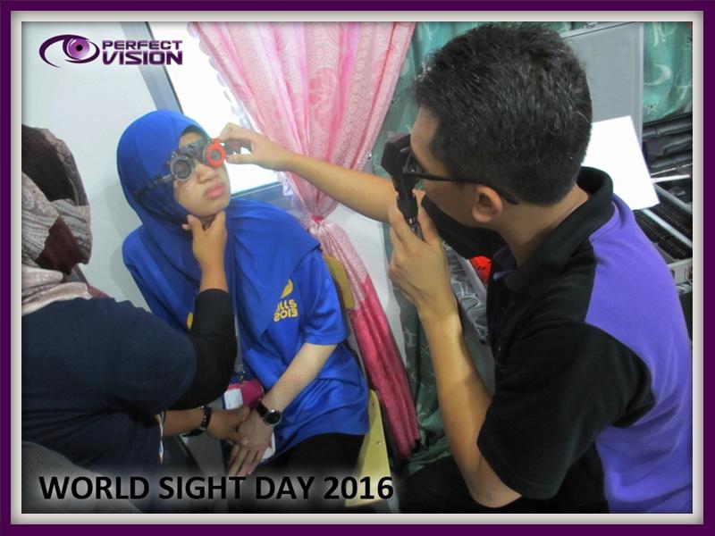 Manual Refraction Eye test