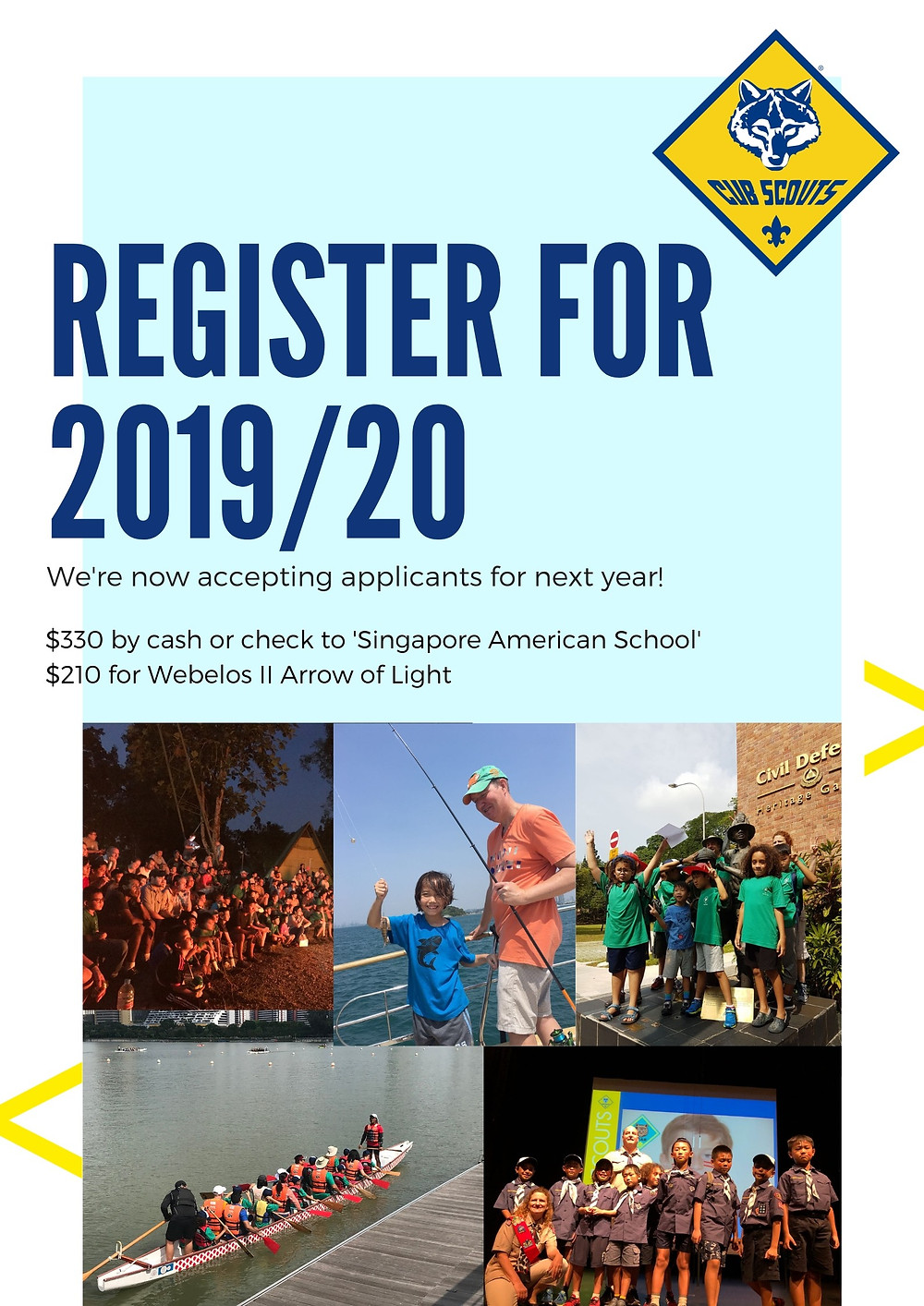 BSA Cub Scouts Pack 3017 Singapore