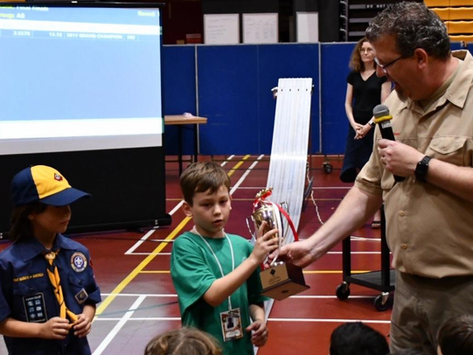 The Pinewood Derby Rocked!