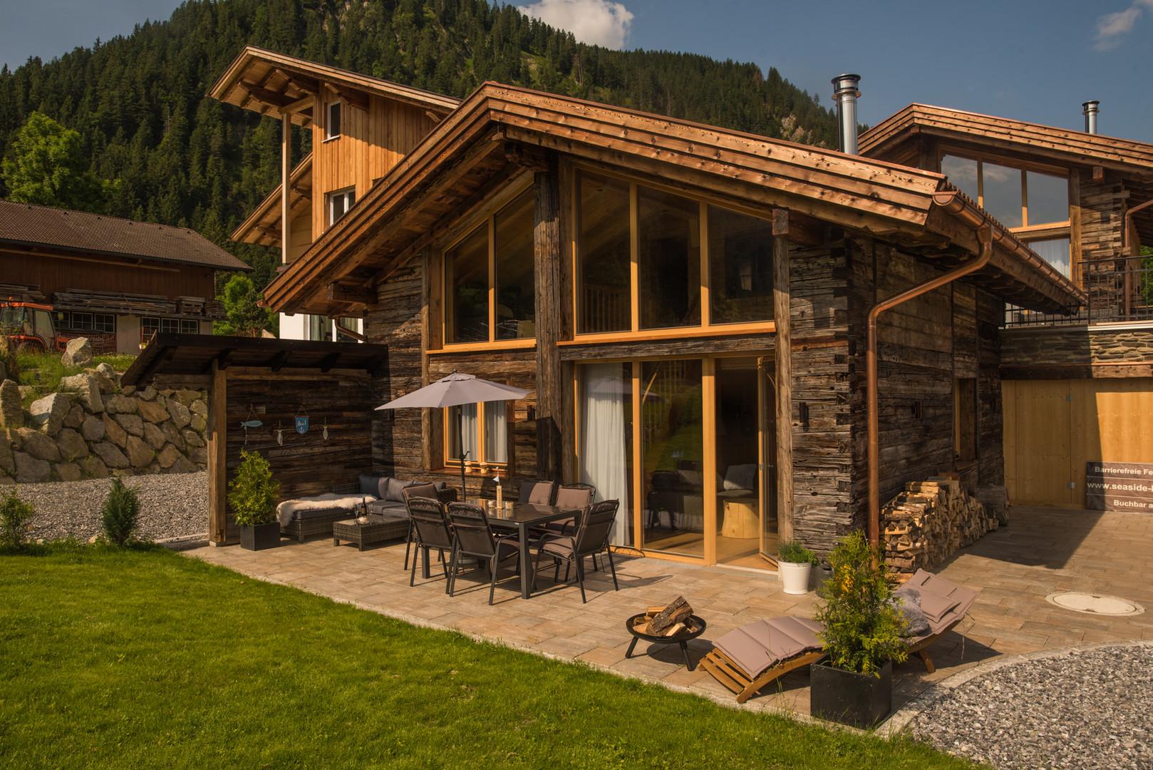 Garten von Käthe´s Lodge