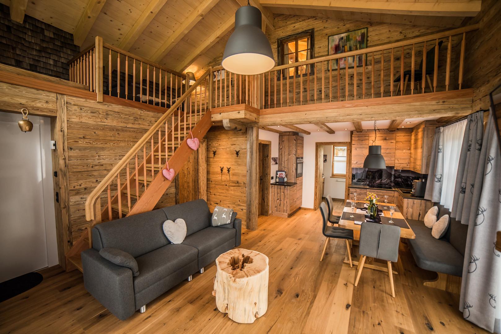 Wohnzimmer in Felixe´s Lodge