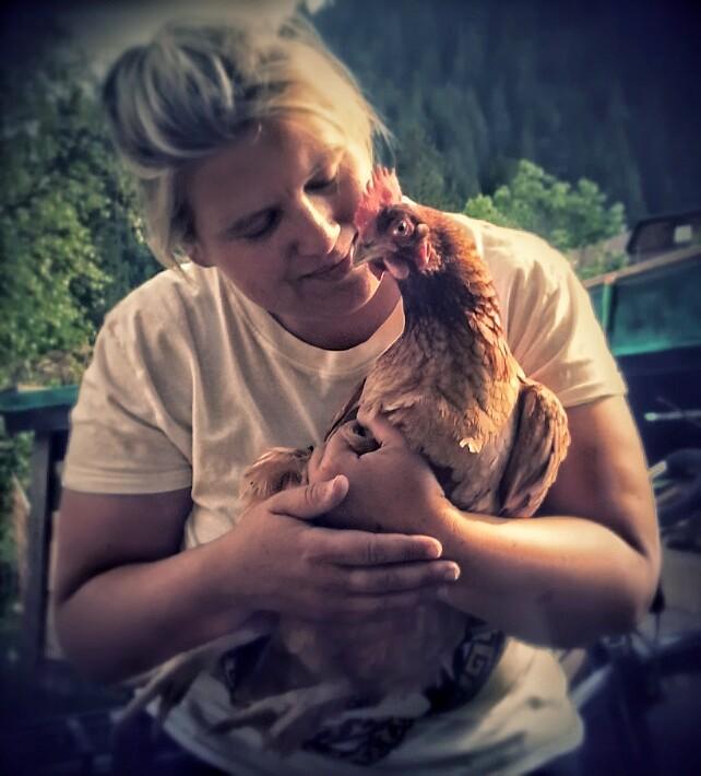 Katrin und die Hühner
