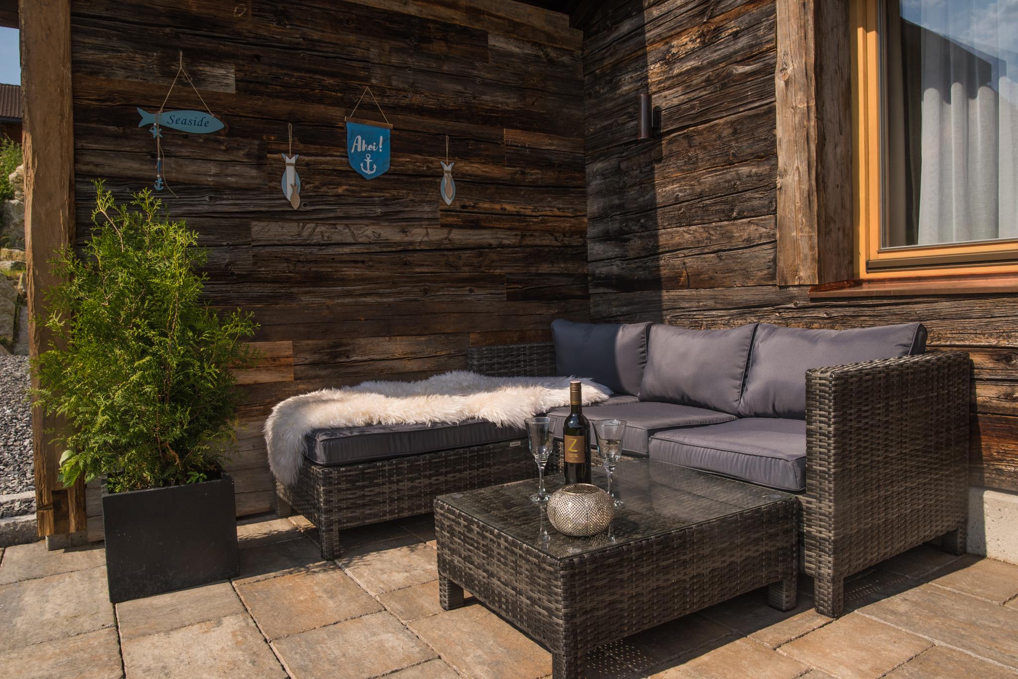 Terrasse Käthe´s Lodge