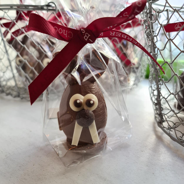 Petit lapin en chocolat