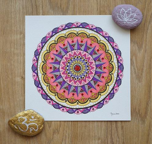 Mandala Sundial