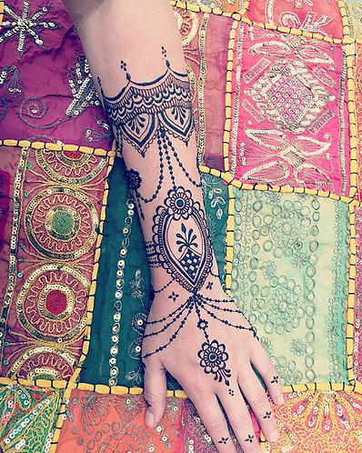 Arrhes - Prestation mariage tatouage éphémère